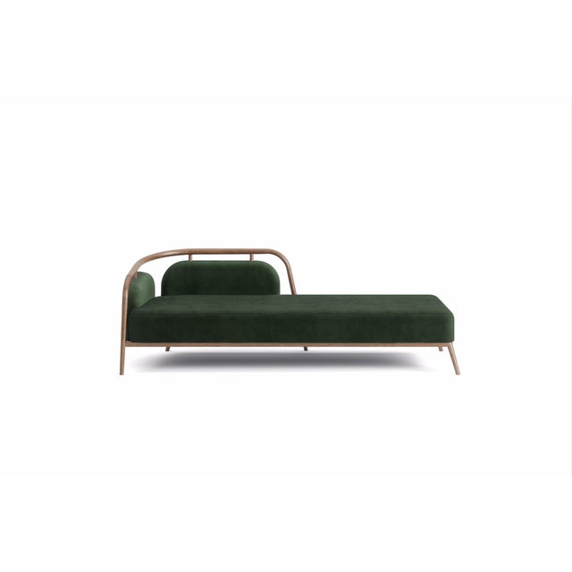 Not Yet Made - Made To Order Green Essex Day Bed For Sale - Image 5 of 5