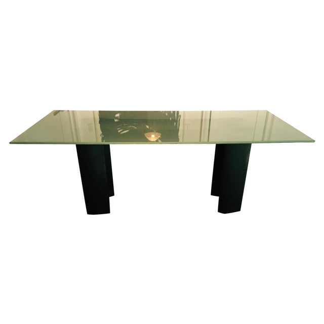 Glass Dining Table - Image 1 of 5