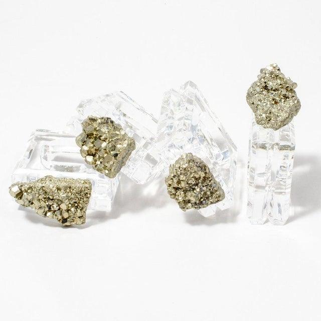 Pyrite Napkin Rings - Set of 4 - Image 3 of 5