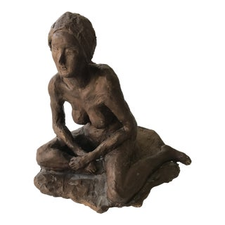 Original Sculpture of Nude Woman For Sale