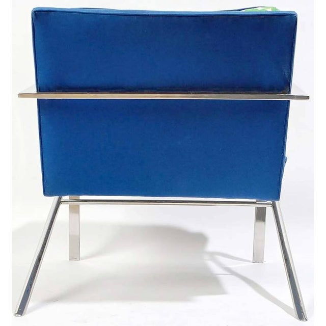 """1960s Pair of """"Arco"""" Club Chairs In The Style Of Paul Tuttle For Sale - Image 5 of 8"""