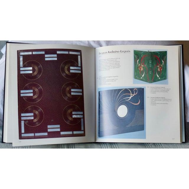 "Art Deco 1960s Vintage ""Art Nouveau and Art Deco Book Binding"" Book For Sale - Image 3 of 9"