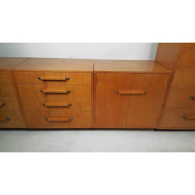 'Flexible Home Arrangement' Modular Birch Cabinet System by Eliel Saarinen - Image 4 of 8