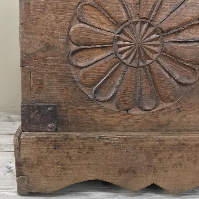 Iron 17th Century Spanish Trunk For Sale - Image 7 of 12