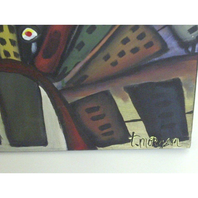 """Graffiti"" Art by T. Morgan, Modern Painting For Sale - Image 4 of 6"