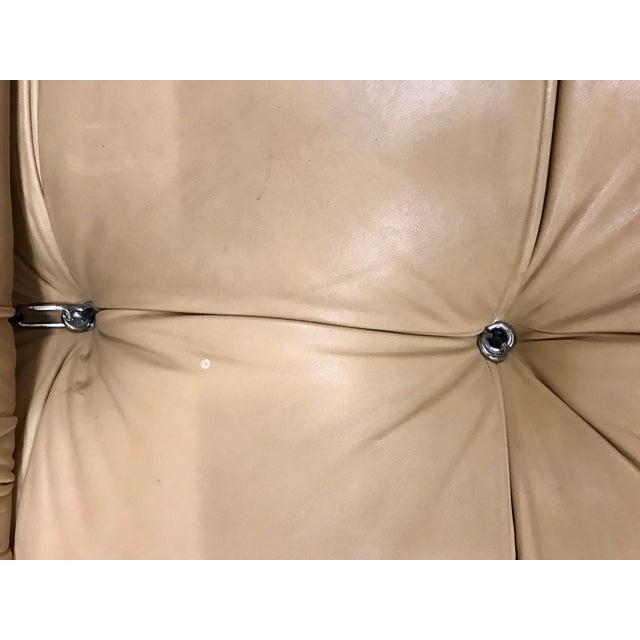 Animal Skin B&b Italia Camaleonda Mario Bellini All Leather Modular Sectional Sofa 3 Pieces For Sale - Image 7 of 11