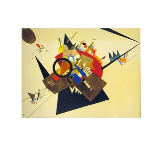 """Wassily Kandinsky Black Triangle 27.5"""" X 35.5"""" Poster 1992 Expressionism Multicolor For Sale"""