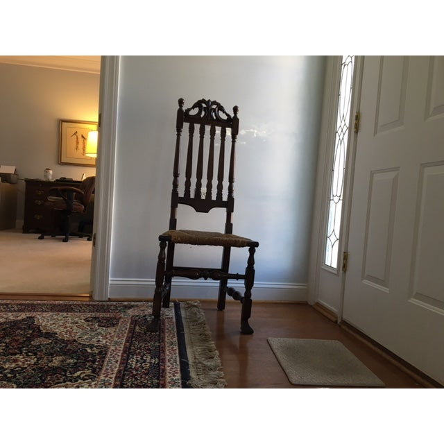 Gothic Revival Highback Chair - Image 4 of 5