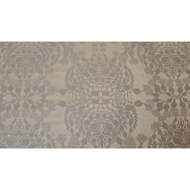 Knoll Luxe Mepal Damask Fabric - 2.6 Yards For Sale - Image 4 of 6