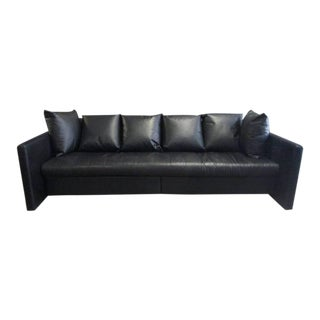 Leather Sofa by Joe D'urso for Knoll For Sale