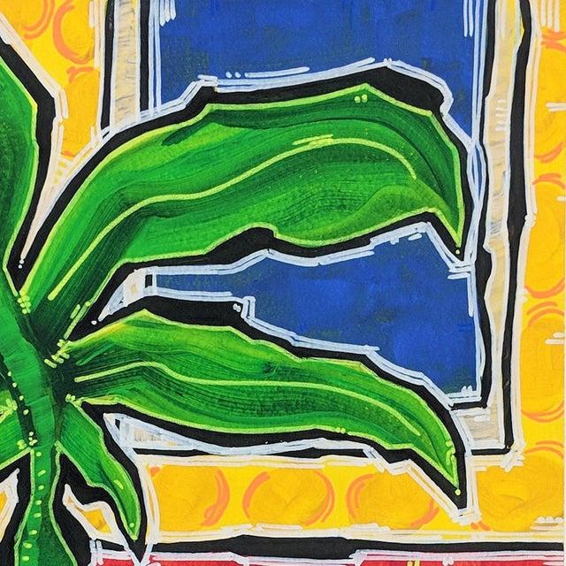 "Abstract ""No Surprises"" Original Artwork by Jonjo Elliott For Sale - Image 3 of 6"