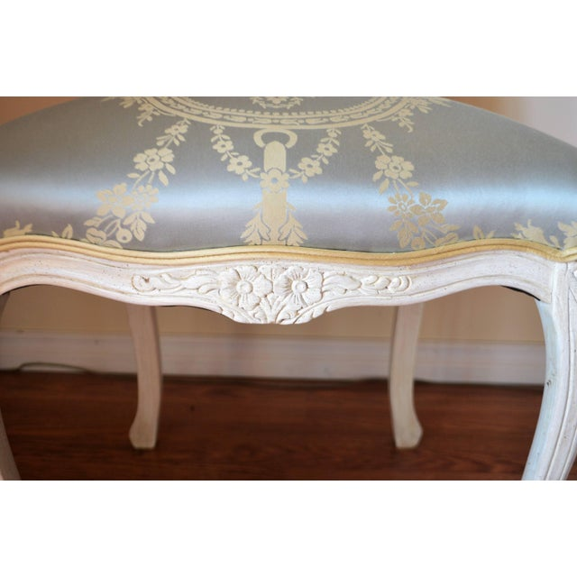 Wood Louis XV Style Dining Room Chairs for Custom Order For Sale - Image 7 of 11