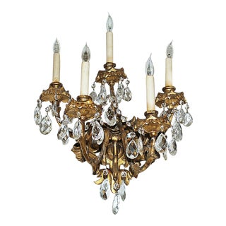 Italian Carved Sconces