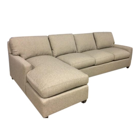 Lee Industries Custom Sectional For Sale