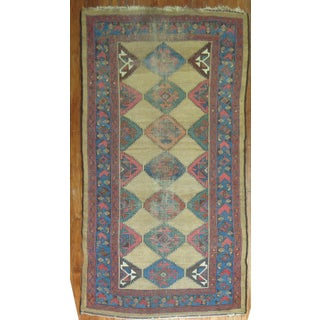 Geometric Antique Rug - 3′10″ × 7′3″ Preview
