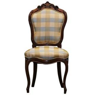 Mid 19th Century Antique Louis Phillippe Chair For Sale