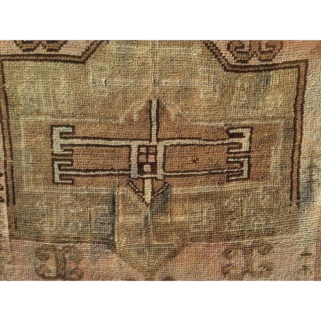 """Antique Turkish Oushak Rug - 2'7"""" x 3'6"""" - Image 4 of 6"""