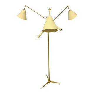 1950s Triennial Floor Lamp by Angelo Lelli for Arredoluce For Sale