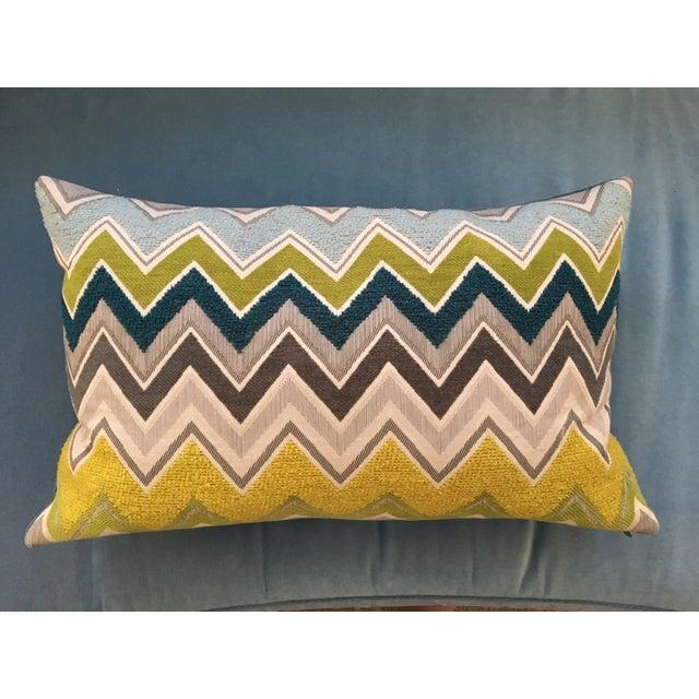 Custom Schumacher Zenyatta Lumbar Pillow - Image 3 of 7
