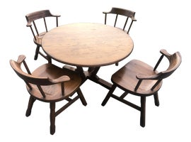 Image of Newly Made A. Brandt Ranch Oak Furniture