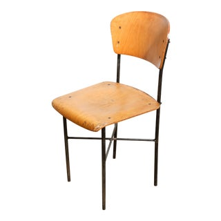 1950's dining chairs sourced from Czech Police Academy