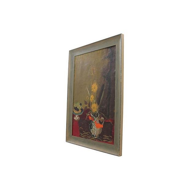 Mid Century Still Life Painting - Image 2 of 7
