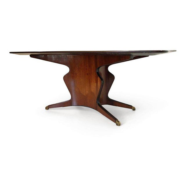 1950s Fossati, Attilio & Arturo Dining Table, Italy, Circa 1950 For Sale - Image 5 of 10