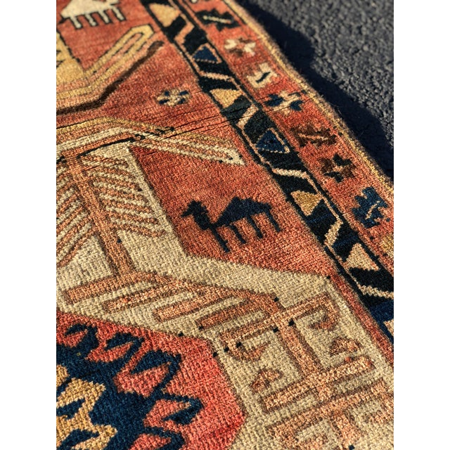 1950s Vintage Persian Sarab Runner Rug - 3′1″ × 10′2″ For Sale - Image 10 of 13