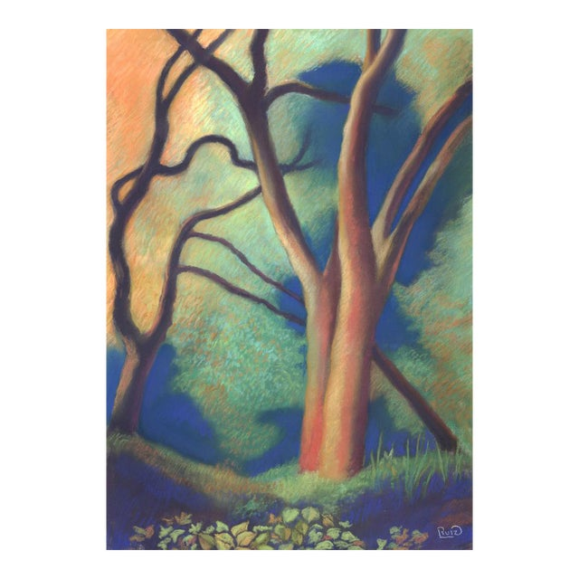 Trees by Path to Enlightenment Painting - Image 1 of 3