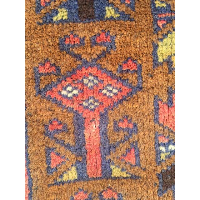 Handmade Persian Baluchi Rug - 2′4″ × 4′5″ - Image 9 of 9