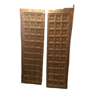 Salvaged Hand Made Antique Original Indian Doors For Sale