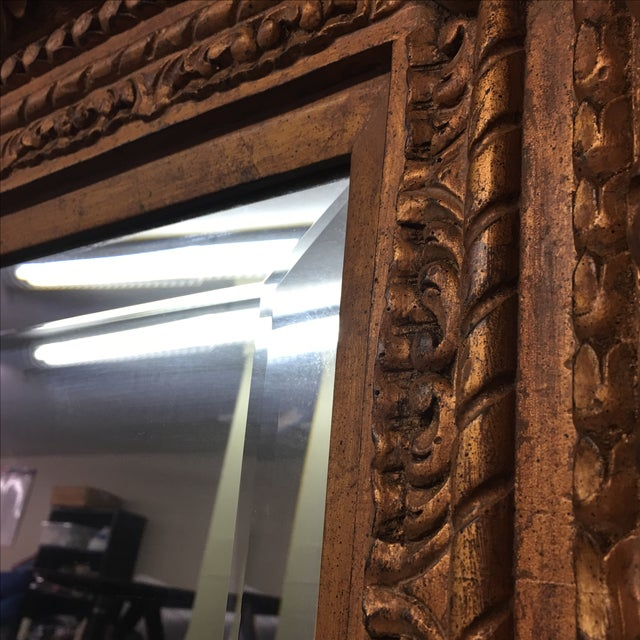 Carved Gilt Wall Mirror - Image 3 of 10