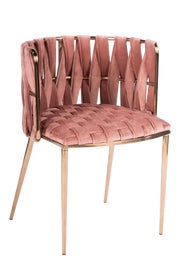 Image of Newly Made Gold Dining Chairs