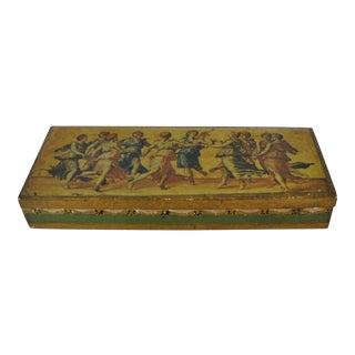 Italian Decorative Storage Box For Sale