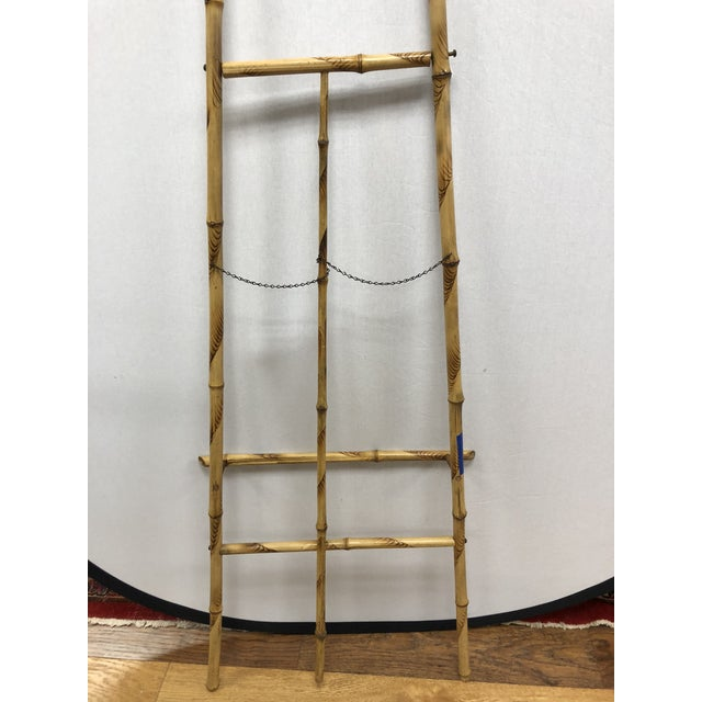 1920s Vintage Bamboo Floor Display Easel For Sale In New York - Image 6 of 8