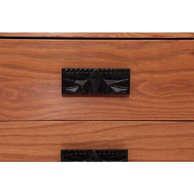 1960s 1960s Dunbar Ashwood Desk For Sale - Image 5 of 8