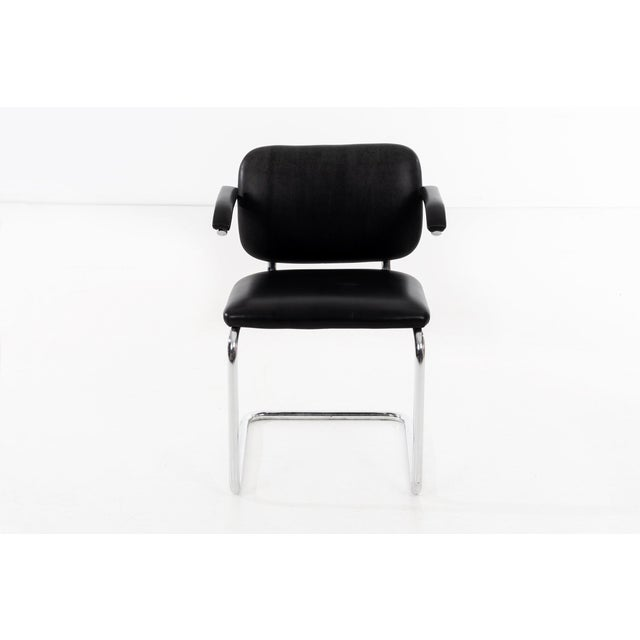 Animal Skin Set of 12 Marcel Breuer Dining Chairs For Sale - Image 7 of 11