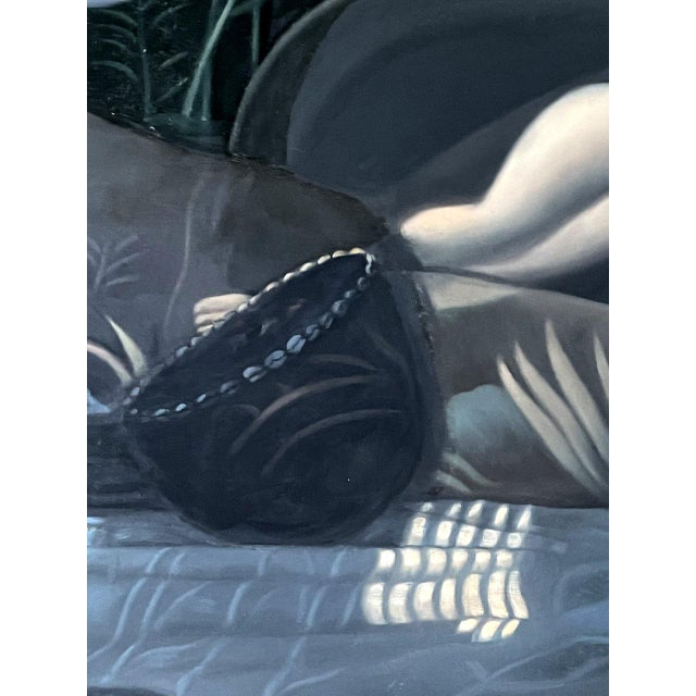 Oil Painting on Canvas by Yang Qian For Sale - Image 10 of 13