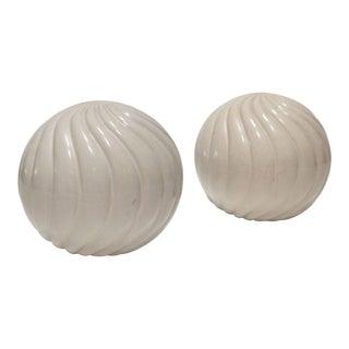 Cream Ceramic Decorative Balls