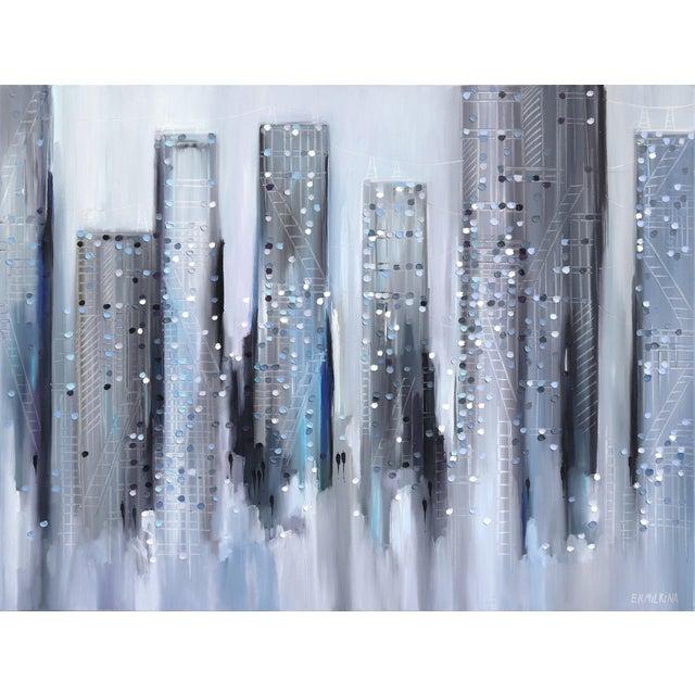 "2010s ""City Mood"" Original Artwork by Ekaterina Ermilkina For Sale - Image 5 of 5"