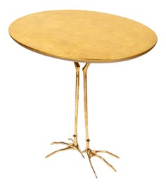 Image of Gold Leaf Accent Tables