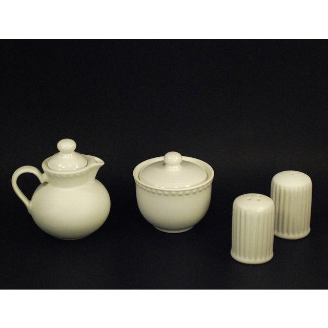 Dansk Rondure Rice White Dinnerware - S/18 For Sale - Image 5 of 9