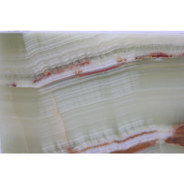 Marble Mid-Century Marbled Onyx Box For Sale - Image 7 of 7