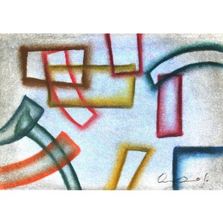 Oscar Arturo, Equilibrio - Colored Shapes Abstract For Sale