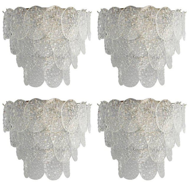 Mazzega Bubble Sconce For Sale - Image 9 of 10