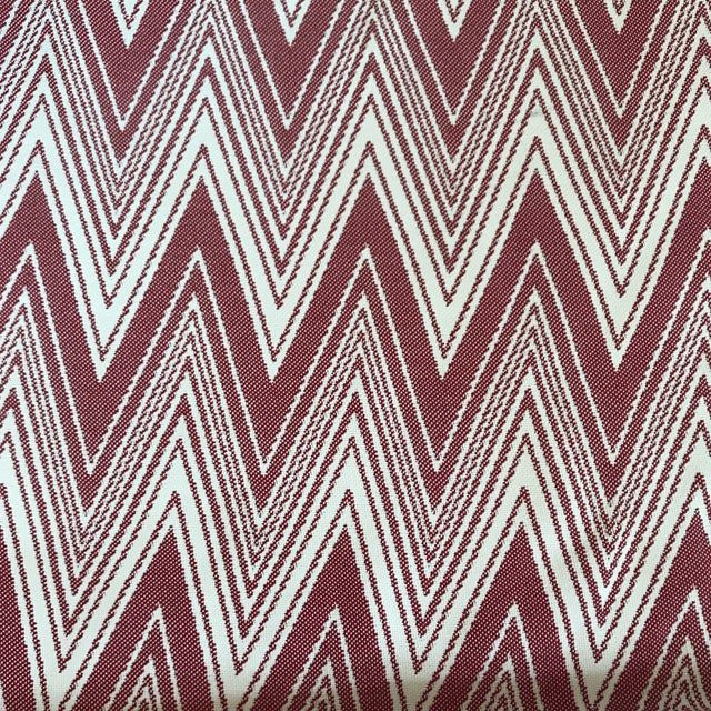3 yards of Brunschwig & Fils Grace - Rojo fabric. Country of Manufacture: Belgium Finish: Softened Railroaded: No Abrasion...