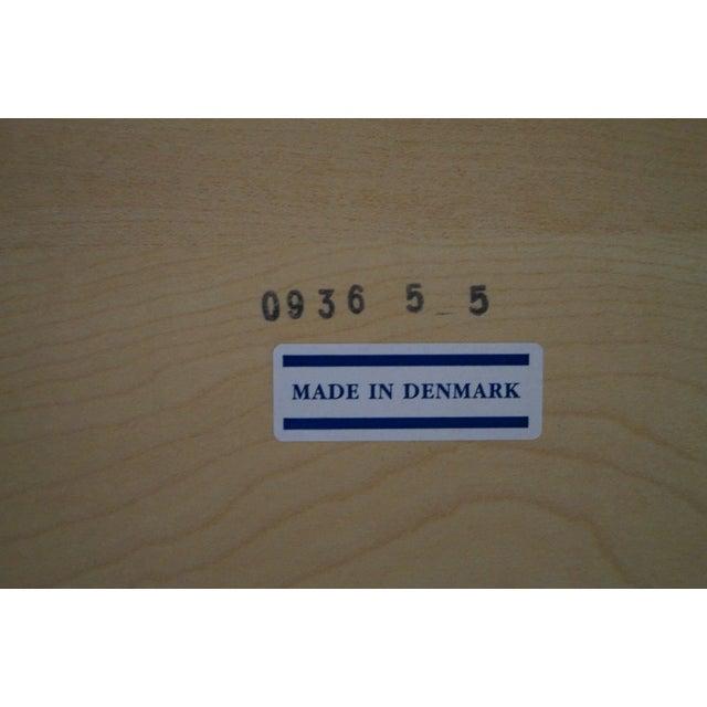 Danish Modern Teak Refractory Square Dining Table - Image 10 of 10