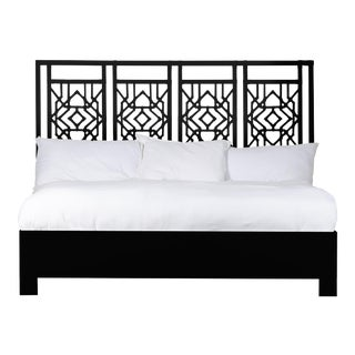 Tulum Bed King - Black For Sale