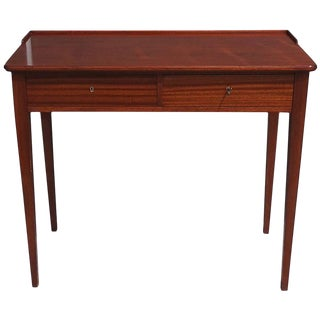 Mid-Century Danish Writing Desk in Teak Wood For Sale