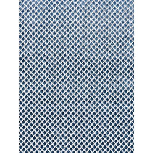Scalamandre Etosha Velvet Jacquard, Bluestone For Sale